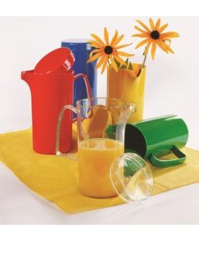 Karton-Knaller-Preis: 1 Karton mit 12 Stück Kanne 0,60 Liter mit Deckel, Farbe TRANSPARENT