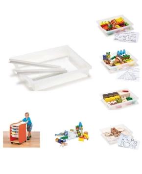 Lern- und Kunststoffboxen