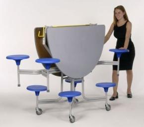 8-Sitzer oval, Tischgröße 156,1 x 136,5 cm (Ausführung wählen)