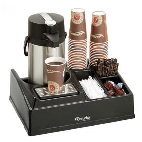 Kaffeestation, geeignet für alle Thermokannen bis zu einem Ø von 19 cm