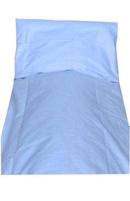 """Bettwäsche """"Hellblau"""", Baumwolle (beliebe Größen + Ihre Wunschgröße)"""
