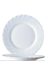 "Hartglas ""Trianon"" - Dessert- / Frühstücksteller Ø 19,5 cm, H 16 mm"