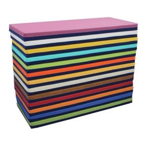 Bodenliegepolster, Bezug eine Seite Baumwollmischgebebe, andere Seite Kunstleder (Größe, Farbe wählen)