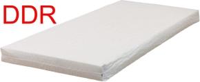 Matratze, DDR-Kinderbett-Größe 140 x 60 x 8 cm, mit 60 Grad waschbaren Bezug creme-weiß