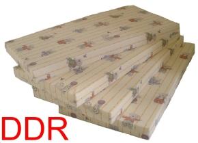Matratze, DDR-Kinderbett-Größe 140 x 60 x 8 cm, mit 30 Grad waschbaren Bezug mit Kindermotiv
