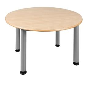 Feststehender Rund-Tisch Ø 100 cm mit Stahlgestell