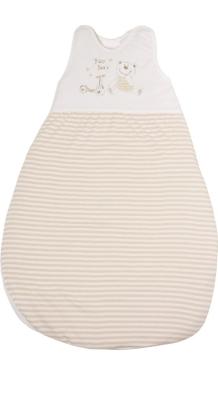 Schlafsack 90 cm, natur, 100 % Baumwolle, 60 Grad waschbar, trocknergeeignet