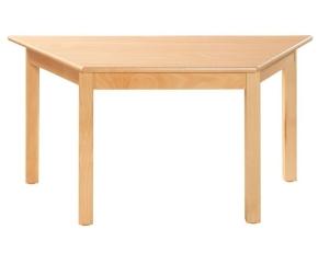 Trapez-Tisch 120x60x60 cm, Formica-Tischplatte (Variante wählen)